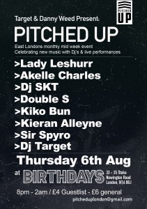 Pitched Up Aug
