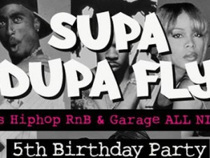Supa Dupa Fly 5th Birthday Party