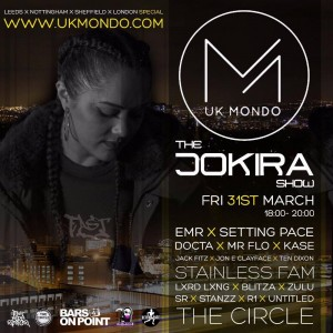 The Jo Kira Show - UK Mondo Flier